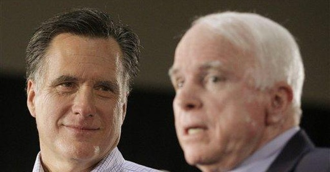 McCain says GOP should settle quickly on Romney